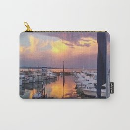 Port Stephens Marina Sunset Carry-All Pouch