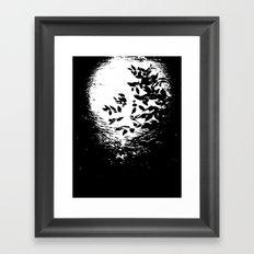 Night Reflections Framed Art Print