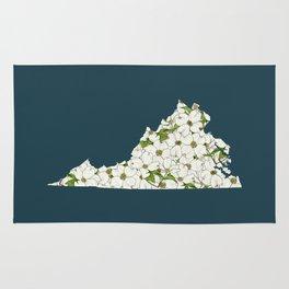 Virginia in Flowers Rug