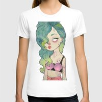 loll3 T-shirts featuring sea queen by lOll3