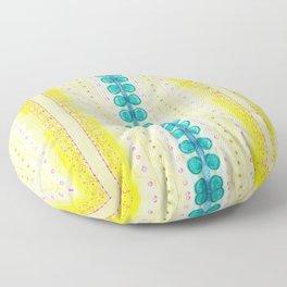 Circles and hearts Floor Pillow