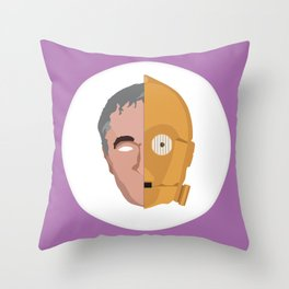 C3P0 / Anthony Daniels Throw Pillow