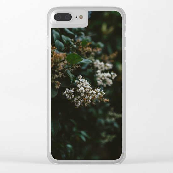 Washington Blooms Clear iPhone Case