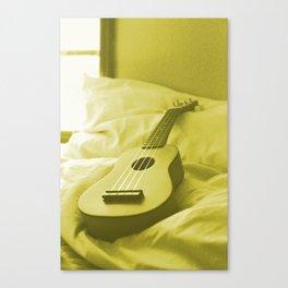 Uke Yellow Canvas Print