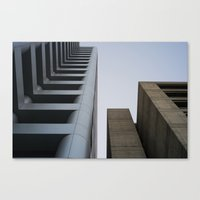 oakland Canvas Prints featuring oakland by jared smith