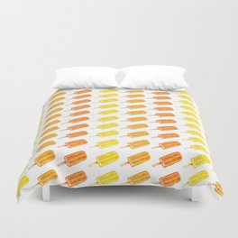 Colorful Popsicles - Summer Pattern Duvet Cover