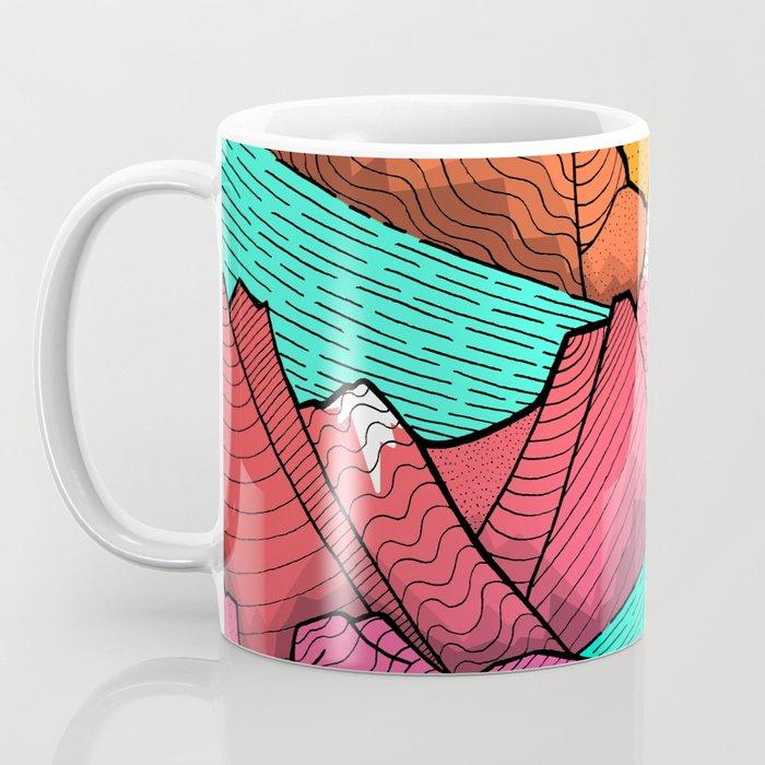 The islands and the sea Coffee Mug
