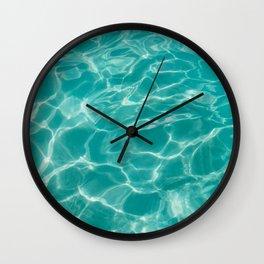 Cabo Water II Wall Clock