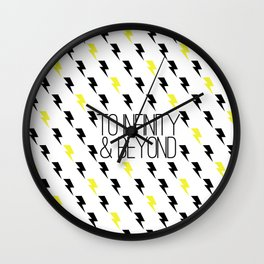 To Infinity & Beyond Wall Clock