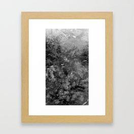 Black+White Framed Art Print