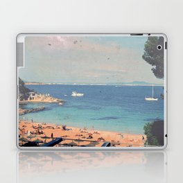 A Private Mallorcan Beach For All Of Us Laptop & iPad Skin