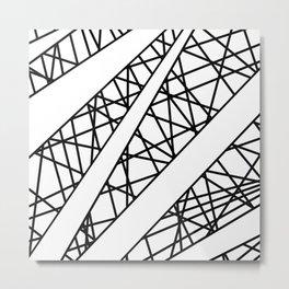 Lazer Dance X Metal Print