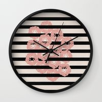 tangled Wall Clocks featuring tangled by spinL