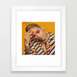 Kehlani 22 Framed Art Print