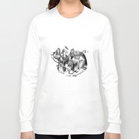 voyage Long Sleeve T-shirts featuring Voyage by Lucie's Illustrations