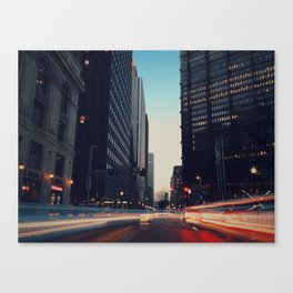City Nights II Canvas Print