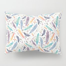 Gypsy Dreams on White Pillow Sham