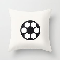 Football - Balls Serie Throw Pillow