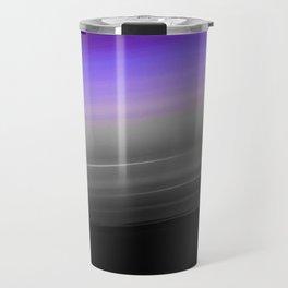 Purple Gray Black Smooth Ombre Travel Mug