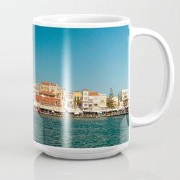 Chania Harbor Coffee Mug