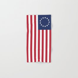 Betsy Ross flag of the USA Hand & Bath Towel