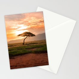 Tsavo National Park, East Kenya, Africa. Stationery Cards