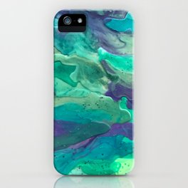 Green Rule iPhone Case