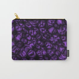 Pearl amethyst soap bubbles patterned with precious blurred outlines Carry-All Pouch