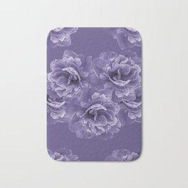 Ultra Violet Peony Flower Bouquet #1 #floral #decor #art #society6 Bath Mat