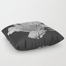 Tokyo Map Floor Pillow