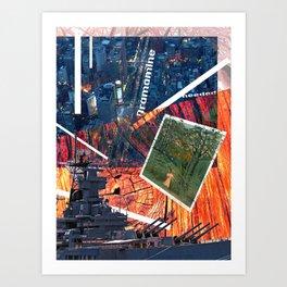 Untitled Collage I Art Print