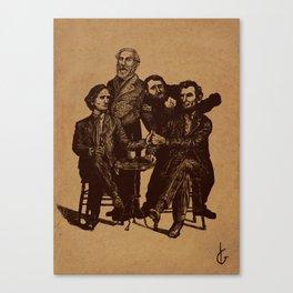 A Civil-er War Canvas Print
