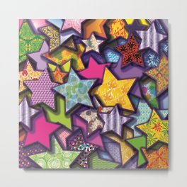 Stars are Out Tonight Metal Print