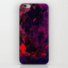 Facing life iPhone & iPod Skin