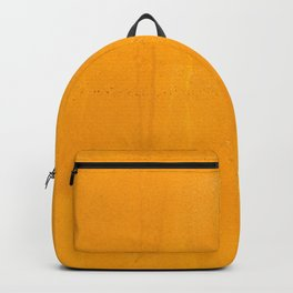 Orange Yellow Paint (Color) Backpack