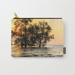 Mangrove sunrise, Phang Nga Bay, Thailand Carry-All Pouch