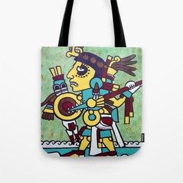 Mixtec Warrior Tote Bag