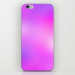 Pink Cosmic Gradient iPhone Skin