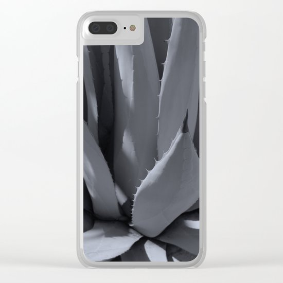 Agave I Clear iPhone Case