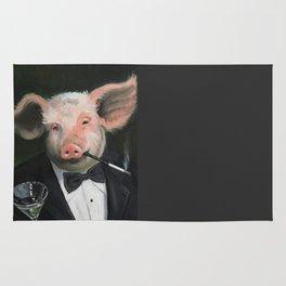 Elitist Pig Rug