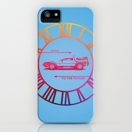 Back To The Future Clock iPhone Case