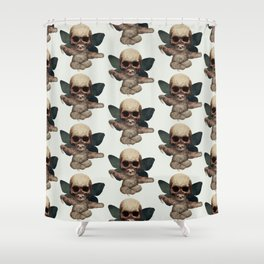 Sloths, Goths, and Moths Shower Curtain