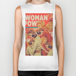 Woman Power Biker Tank