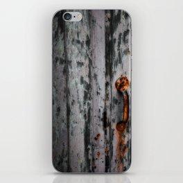 Rusty Handle iPhone Skin