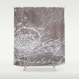 Texture #12 Glass Shower Curtain