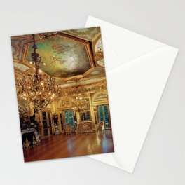 Newport Mansions, Rhode Island - Marble House - Gold Room #1 Stationery Cards