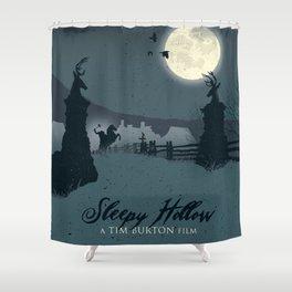 Sleepy Hollow art movie inspired Shower Curtain