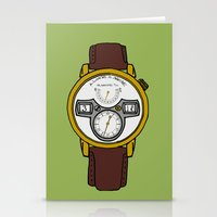 jessica lange Stationery Cards featuring A. Lange by Illustrated by Jenny