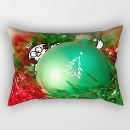 Cat Jingle Balls Rectangular Pillow