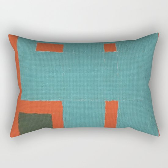 Factory Gate Rectangular Pillow